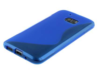 Wave Case for HTC 10 - Frosted Blue/Blue