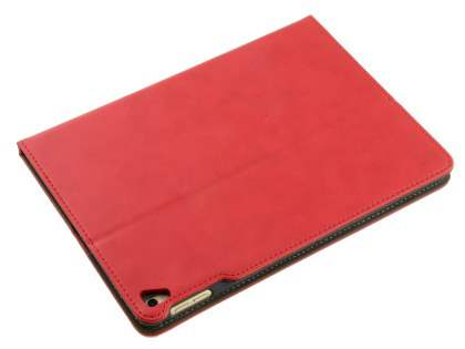 Synthetic Leather Case with Stand for iPad Pro 9.7 - Red