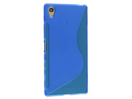 Wave Case for Sony Xperia Z5 Premium - Frosted Blue/Blue Soft Cover