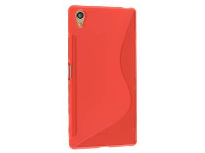 Wave Case for Sony Xperia Z5 Premium - Frosted Red/Red Soft Cover