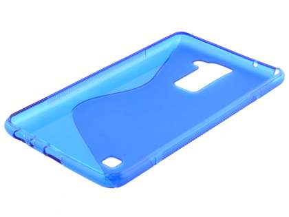 Wave Case for LG Stylus DAB+ - Frosted Blue/Blue
