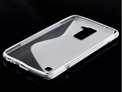 Wave Case for LG Stylus DAB+ - Frosted Clear/Clear