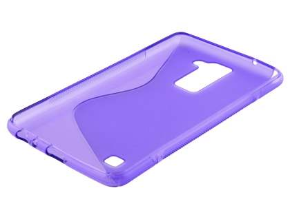 Wave Case for LG Stylus DAB+ - Frosted Purple/Purple