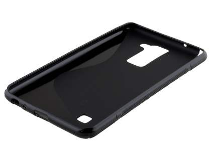 Wave Case for LG Stylus DAB+ - Frosted Black/Black