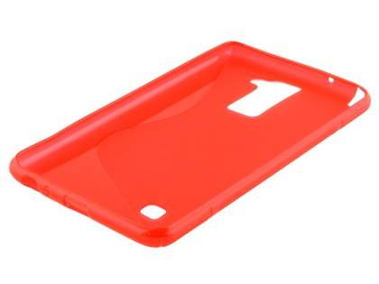 Wave Case for LG Stylus DAB+ - Frosted Red/Red