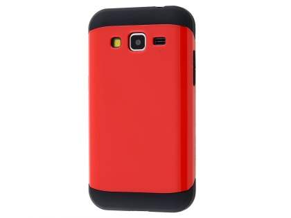 Impact Case for Samsung Galaxy Core Prime - Red/Black Impact Case