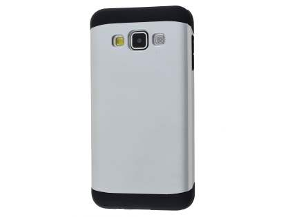 Impact Case for Samsung Galaxy A3 A300F - Silver/Black Impact Case