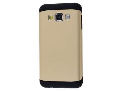 Impact Case for Samsung Galaxy A3 A300F - Gold/Black Impact Case