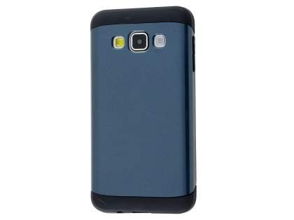 Impact Case for Samsung Galaxy A3 A300F - Midnight Blue/Black Impact Case