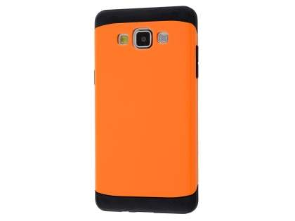 Impact Case for Samsung Galaxy A3 A300F - Orange/Black Impact Case