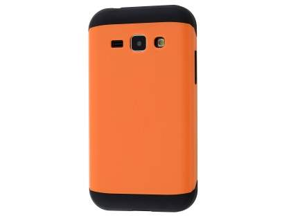 Impact Case for Samsung Galaxy J1 (2015) - Orange/Black Impact Case