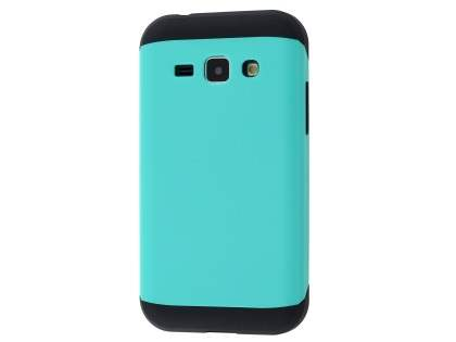 Impact Case for Samsung Galaxy J1 Ace - Mint/Black