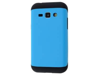 Impact Case for Samsung Galaxy J1 Ace - Sky Blue/Black Impact Case
