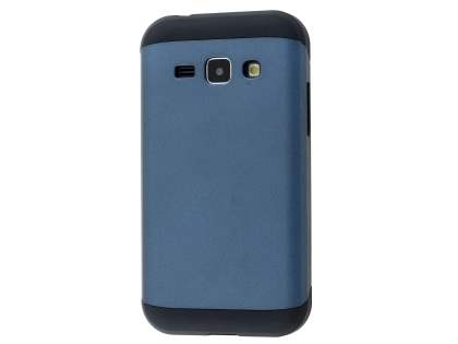 Impact Case for Samsung Galaxy J1 Ace - Midnight Blue/Black Impact Case
