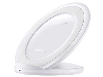 Genuine Samsung Fast Charge Wireless Stand - White Wireless Charge