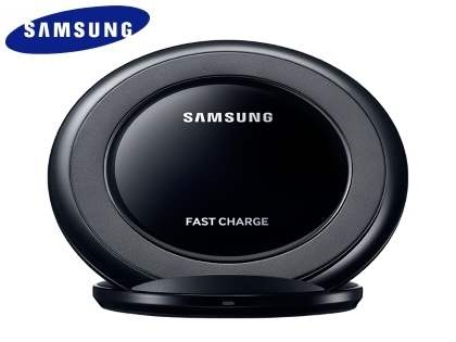 Genuine Samsung Fast Charge Wireless Stand - Black Sapphire