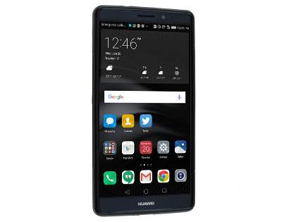 Huawei Mate 8 Wave Case - Frosted Black/Black