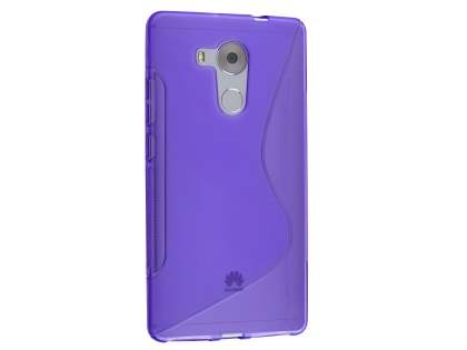 Huawei Mate 8 Wave Case - Frosted Purple/Purple Soft Cover