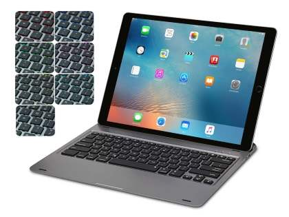 LED Backlit Aluminium Bluetooth Keyboard for iPad Pro 12.9 - Grey