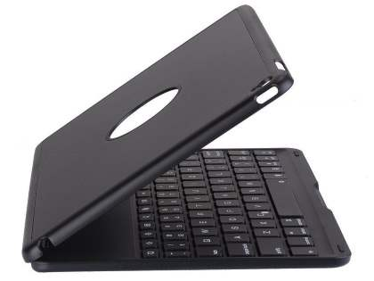 LED Backlit Bluetooth Keyboard Cover for iPad Air 2 - Classic Black