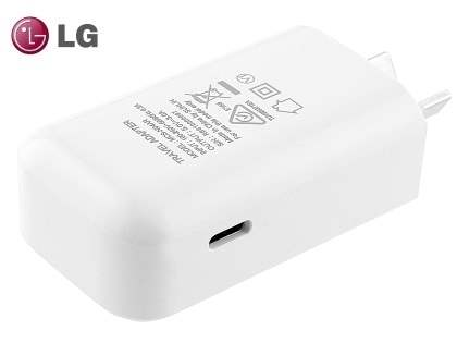 Genuine LG USB-C (Also Known as USB Type-C) Power Adaptor - White