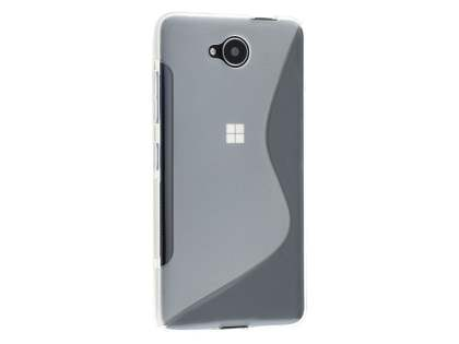 Wave Case for Microsoft Lumia 650 - Frosted Clear/Clear Soft Cover
