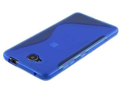Wave Case for Microsoft Lumia 650 - Frosted Blue/Blue
