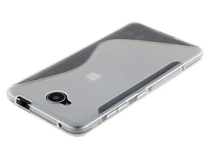 Wave Case for Microsoft Lumia 650 - Frosted Clear/Clear