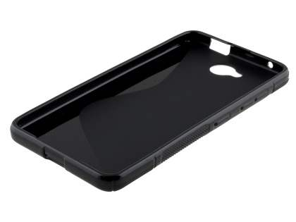 Wave Case for Microsoft Lumia 650 - Frosted Black/Black