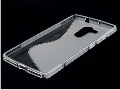 Huawei Mate 8 Wave Case - Frosted Clear/Clear