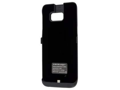 5800mAh Power Case Battery with Stand for Samsung Galaxy S6 Edge Plus - Classic Black