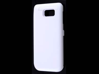5800mAh Power Case Battery with Stand for Samsung Galaxy Note 5 - White Case Battery