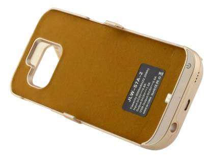 6000mAh Power Case Battery with Stand for Samsung Galaxy S7 - Gold