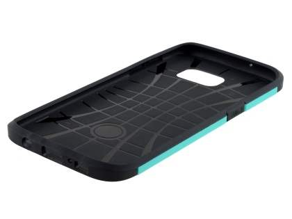 Impact Case for Samsung Galaxy S7 edge - Mint/Black