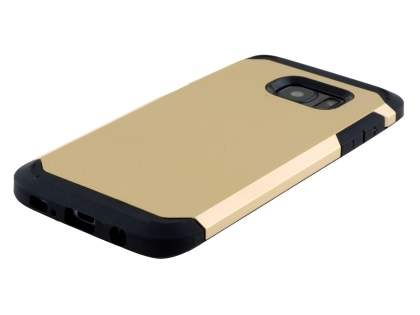 Impact Case for Samsung Galaxy S7 edge - Gold/Black