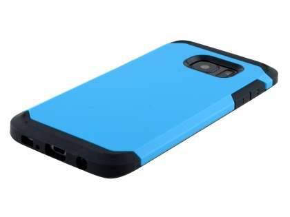 Impact Case for Samsung Galaxy S7 edge - Sky Blue/Black