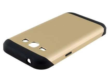 Impact Case for Samsung Galaxy J1 (2015) - Gold/Black