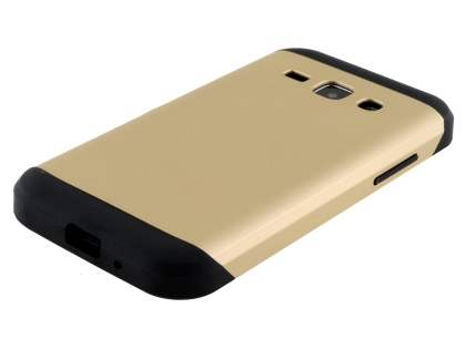 Impact Case for Samsung Galaxy J1 Ace - Gold/Black