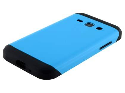 Impact Case for Samsung Galaxy J1 Ace - Sky Blue/Black