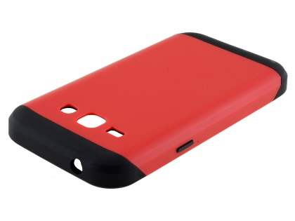 Impact Case for Samsung Galaxy J1 Ace - Red/Black