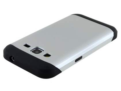 Impact Case for Samsung Galaxy Core Prime - Silver/Black