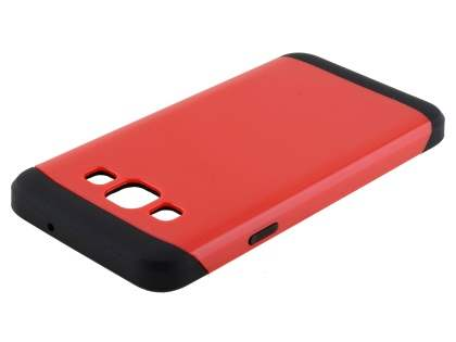 Impact Case for Samsung Galaxy A3 A300F - Red/Black