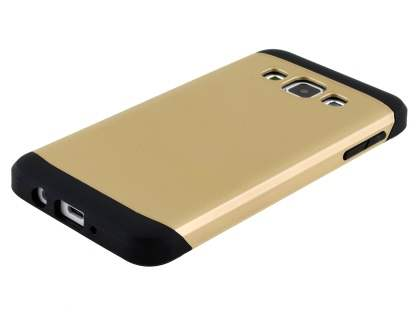 Impact Case for Samsung Galaxy A3 A300F - Gold/Black