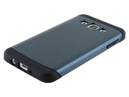 Impact Case for Samsung Galaxy A3 A300F - Midnight Blue/Black