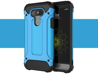 LG G5 Impact Case - Sky Blue/Black Impact Case