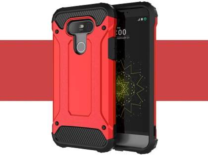 LG G5 Impact Case - Red/Black Impact Case