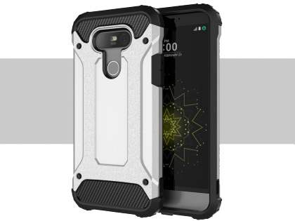 LG G5 Impact Case - White/Black Impact Case