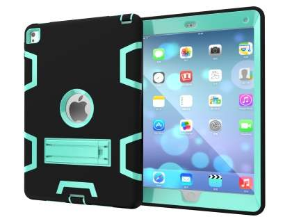 Impact Case with Stand for iPad Pro 9.7 - Black/Mint Impact Case