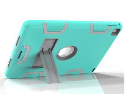 Rugged Impact Case with Stand for iPad Pro 9.7 - Mint/Grey