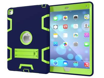 Impact Case with Stand for iPad Pro 9.7 - Navy/Lime Impact Case